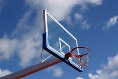 Cesta del baloncesto Foto de archivo