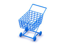 Cesta del consumidor. Fotografía de archivo libre de regalías