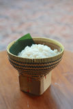 Cesta do arroz Imagens de Stock Royalty Free