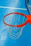 Cesta do basquetebol Imagens de Stock
