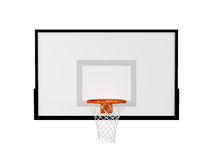 Cesta do basquetebol Imagens de Stock Royalty Free