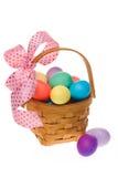 Cesta do ovo de Easter Foto de Stock