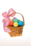 Cesta do ovo de Easter Imagem de Stock