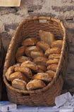 Cesta do pão Foto de Stock Royalty Free