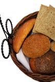 Cesta do pão Imagem de Stock Royalty Free