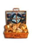 Cesta do pão para o partido Imagem de Stock