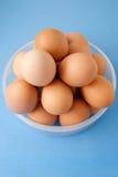 Cesta dos ovos Foto de Stock Royalty Free