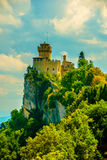 Cesta fortress, San Marino Royalty Free Stock Image