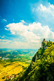 Cesta fortress, San Marino Stock Images