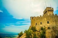 Cesta fortress, San Marino Stock Photos