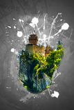 Cesta fortress, San Marino Royalty Free Stock Images
