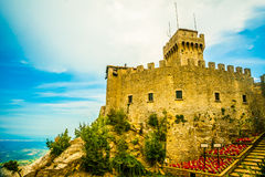 Cesta fortress, San Marino Stock Photography