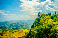 Cesta fortress, San Marino Royalty Free Stock Images