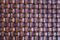 Cesta tejida Foto de archivo