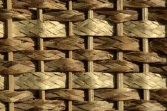 Cesta tejida Imagen de archivo libre de regalías