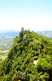 Cesta tower on Monte Titano Stock Photography