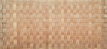 A cesta, weave, entrelaça-se o fundo de couro da textura Fotografia de Stock