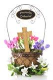 Cestada de Pascua Foto de archivo libre de regalías