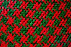 Cestaria feita do bambu no mercado Imagens de Stock