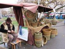 Cestas checas Imagens de Stock Royalty Free