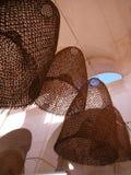 Cestas colgantes Foto de archivo libre de regalías
