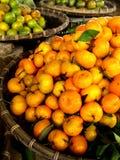 Cestas da clementina Imagem de Stock Royalty Free