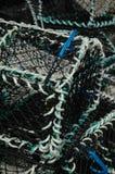 Cestas de la pesca Foto de archivo libre de regalías