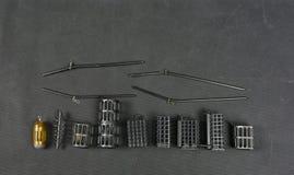 Cestas para Groundbait Fotografía de archivo libre de regalías