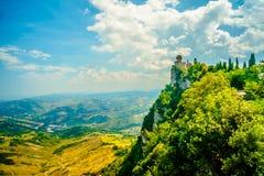 Cestavesting, San Marino royalty-vrije stock afbeeldingen