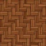 Cestería texturizada de madera decorativa abstracta Imágenes de archivo libres de regalías