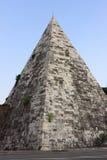 Cestia Pyramid in Rome Royalty Free Stock Photo