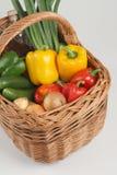 Cestino con le verdure Immagine Stock Libera da Diritti