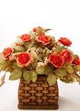 Cestino del fiore Immagine Stock