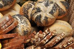 Cestino del pane Fotografia Stock Libera da Diritti