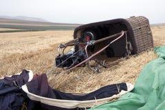 Cestino dell'aerostato di aria calda Fotografie Stock Libere da Diritti