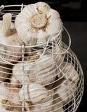 Cestino dell'aglio Fotografie Stock Libere da Diritti