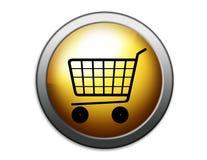 Cestino di acquisto Immagine Stock Libera da Diritti