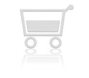 Cestino di acquisto, tasto del carrello Fotografia Stock Libera da Diritti