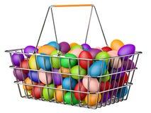 Cestino di Pasqua Immagini Stock
