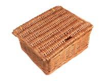 Cestino di picnic Fotografie Stock
