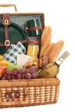 Cestino di picnic Immagini Stock Libere da Diritti