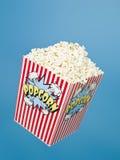 Cestino di popcorn fotografia stock libera da diritti