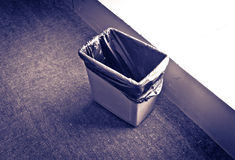 Cestino residuo Immagini Stock