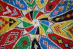 cestino tradizionale africano Fotografia Stock Libera da Diritti