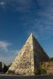 Cestius金字塔 库存照片