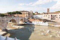 Cestius' Bridge Royalty Free Stock Image