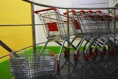 Cestos de compras Imagem de Stock