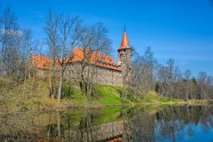 Cesvaine Palace Royalty Free Stock Photography