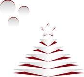 Cet Christmas tree Stock Image