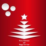 Cet Christmas tree Stock Photo